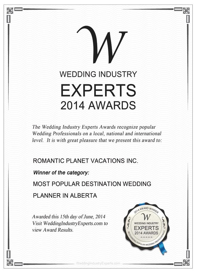 Wedding Planner Expert Alberta