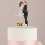 Destination Wedding Cake Topper