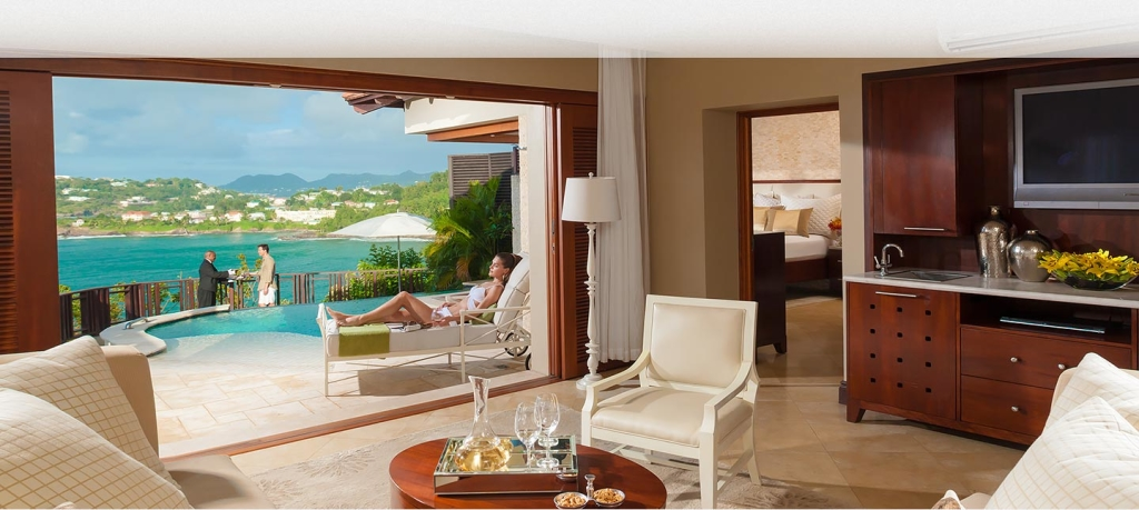 Sandals Regency Millionaire Suite Honeymoon